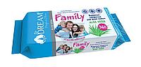 Влажные салфетки Family Air Dream 36шт