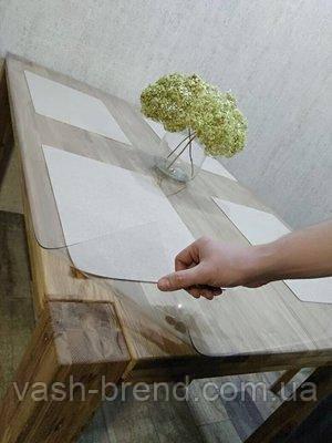 М'яке скло на стіл скатертину силіконова товщина 3 мм