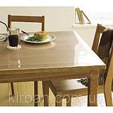 М'яке скло на стіл скатертину силіконова товщина 3 мм, фото 3
