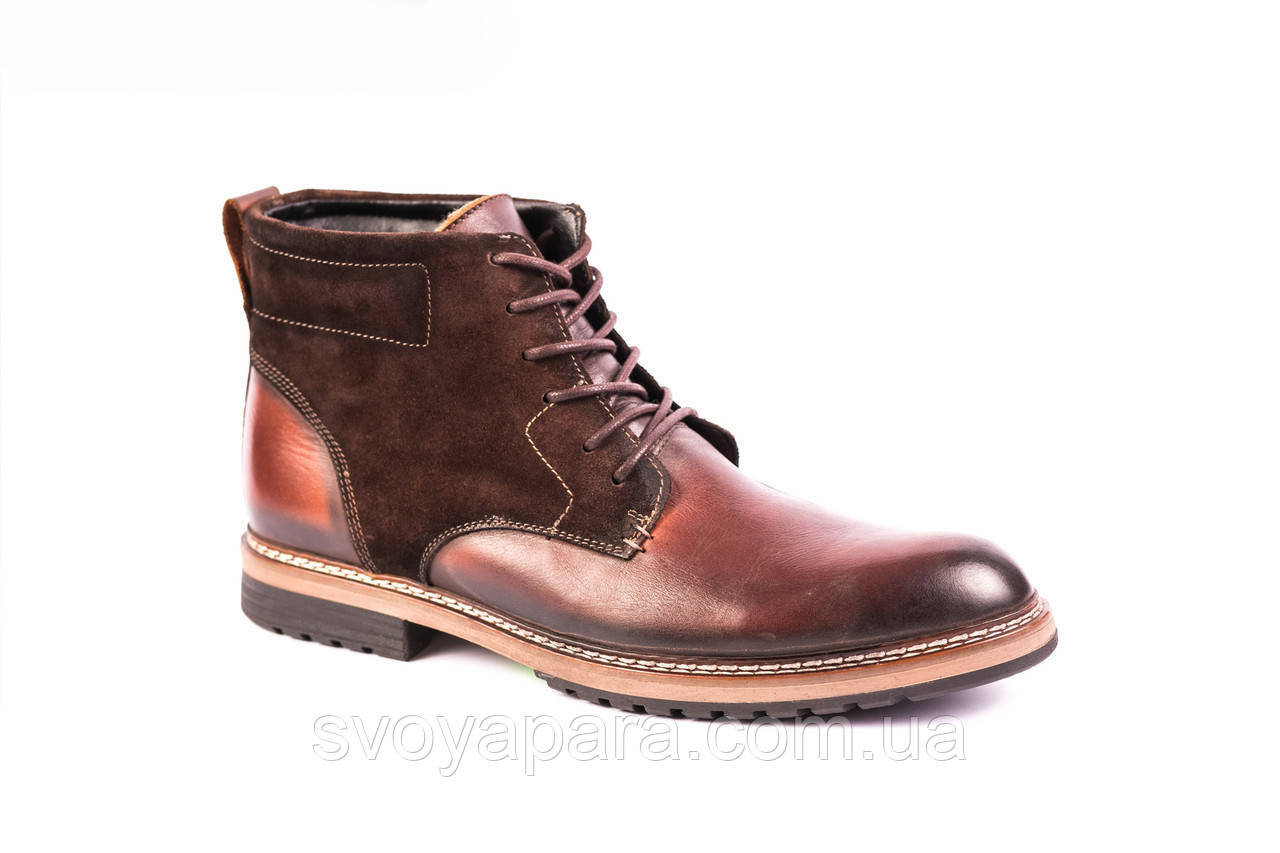 Зимові черевики Covalli коричневі