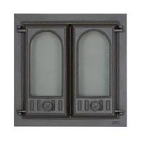 Дверца для печи со стеклом SVT 401, фото 1