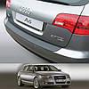 Пластиковая защитная накладка на задний бампер для Audi A6 Avant 2004-2011