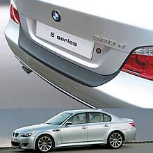Пластикова захисна накладка на задній бампер для BMW 5-series E60 'M' Sport 2003-2010