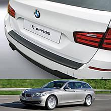 Пластикова захисна накладка на задній бампер для BMW 5-series F11 Touring 2010-2017
