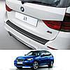 Пластиковая защитная накладка на задний бампер для BMW X1 E84 'M' Sport 2009-2015