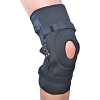 Ортез на коленный сустав разъемный с полицентрическими шарнирами ES-798. Розміри: S, M, L, XL, XXL