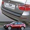 Пластиковая защитная накладка на задний бампер для BMW X6 E71 2008-2012