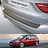 Пластиковая защитная накладка на задний бампер для BMW 2-series F46 Gran Tourer 2015> oem # 51472420529