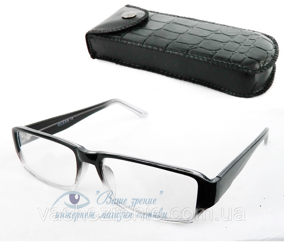 Очки для зрения +/- (СТЕКЛО!) Код:1041