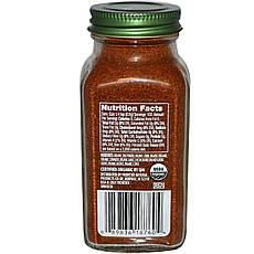 Simply Organic, Порошок чилі, 2.89 унцій (82 г)