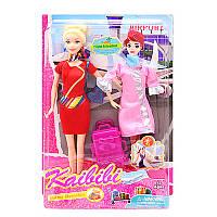"""Лялька - стюардеса з платтям та аксесуарами """"Каibibi"""" BLD127 р.23*34*6см *"""