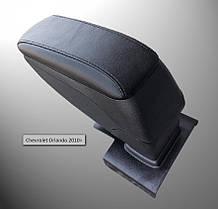 Подлокотник Armcik S2 со сдвижной крышкой и регулируемым наклоном для Chevrolet Orlando 2010+
