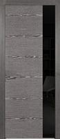 Двери межкомнатные (дубовый шпон крашенный) Амстердам со стеклом Лакобель