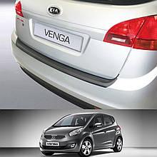 Пластикова захисна накладка на задній бампер для KIA Venga 2010-2019