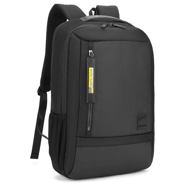 Современный тонкий рюкзак Arctic Hunter B00357, с USB, карманом ноутбука, RFID защитой и расширителем, 22л