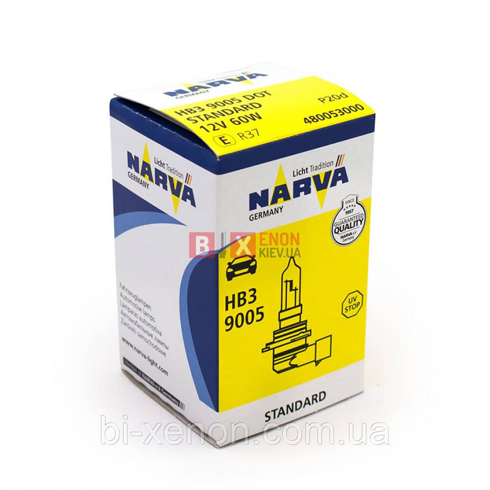 Галогенная лампа NARVA HB3 Standard 48005