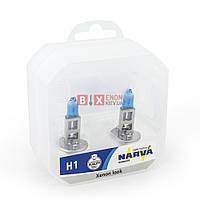 Галогенная лампа NARVA H1 RANGE POWER WHITE 48641 Комплект