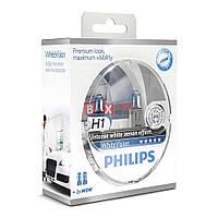 Галогенная лампа PHILIPS H1 White Vision +60% 12258WHVSM