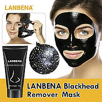 Высокоэффективное средство от угрей и черных точек Lanbena Black Mask