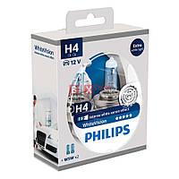 Галогенная лампа PHILIPS H4 White Vision 12342WHVSM