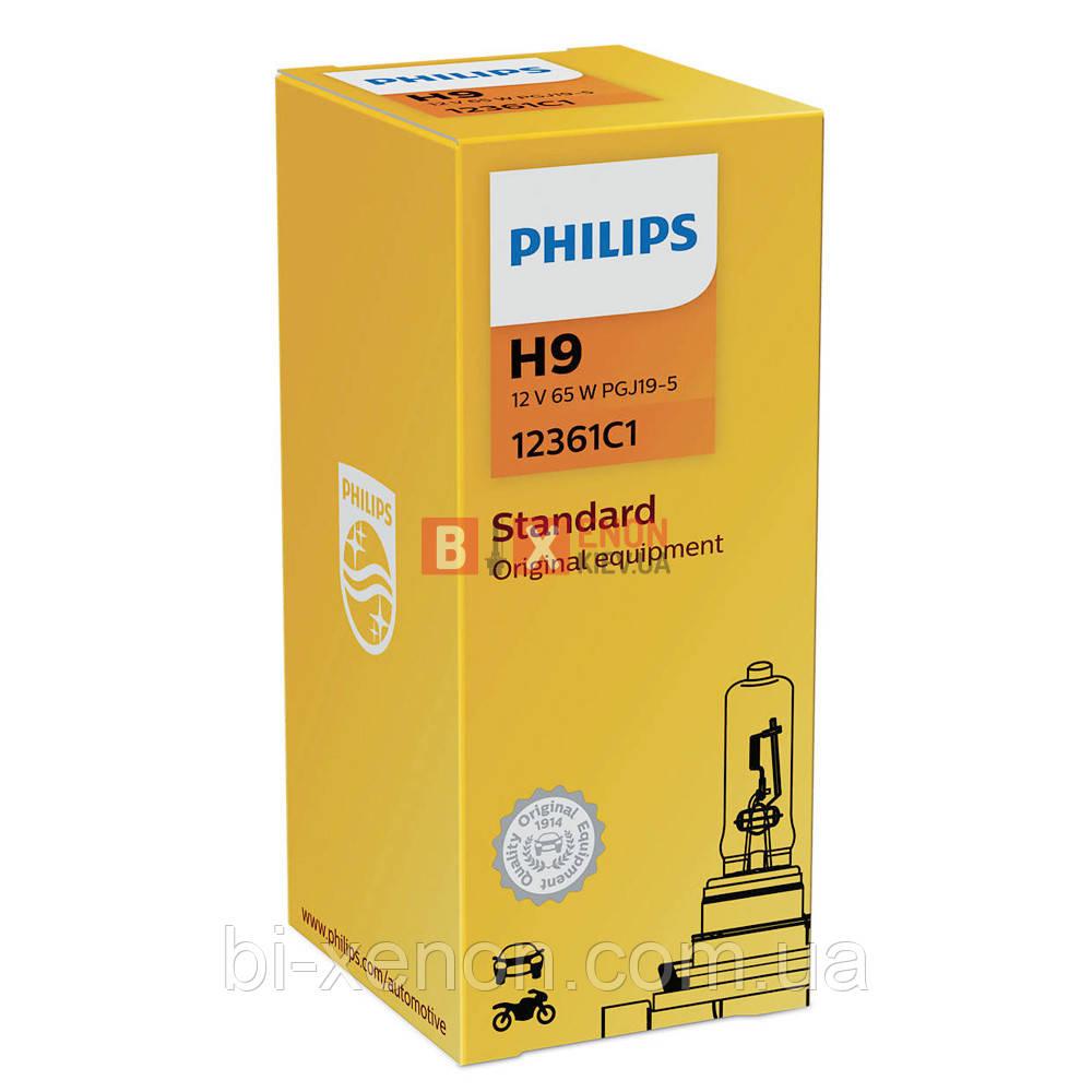 Галогенная лампа PHILIPS H9 Vision +30% 12361C1