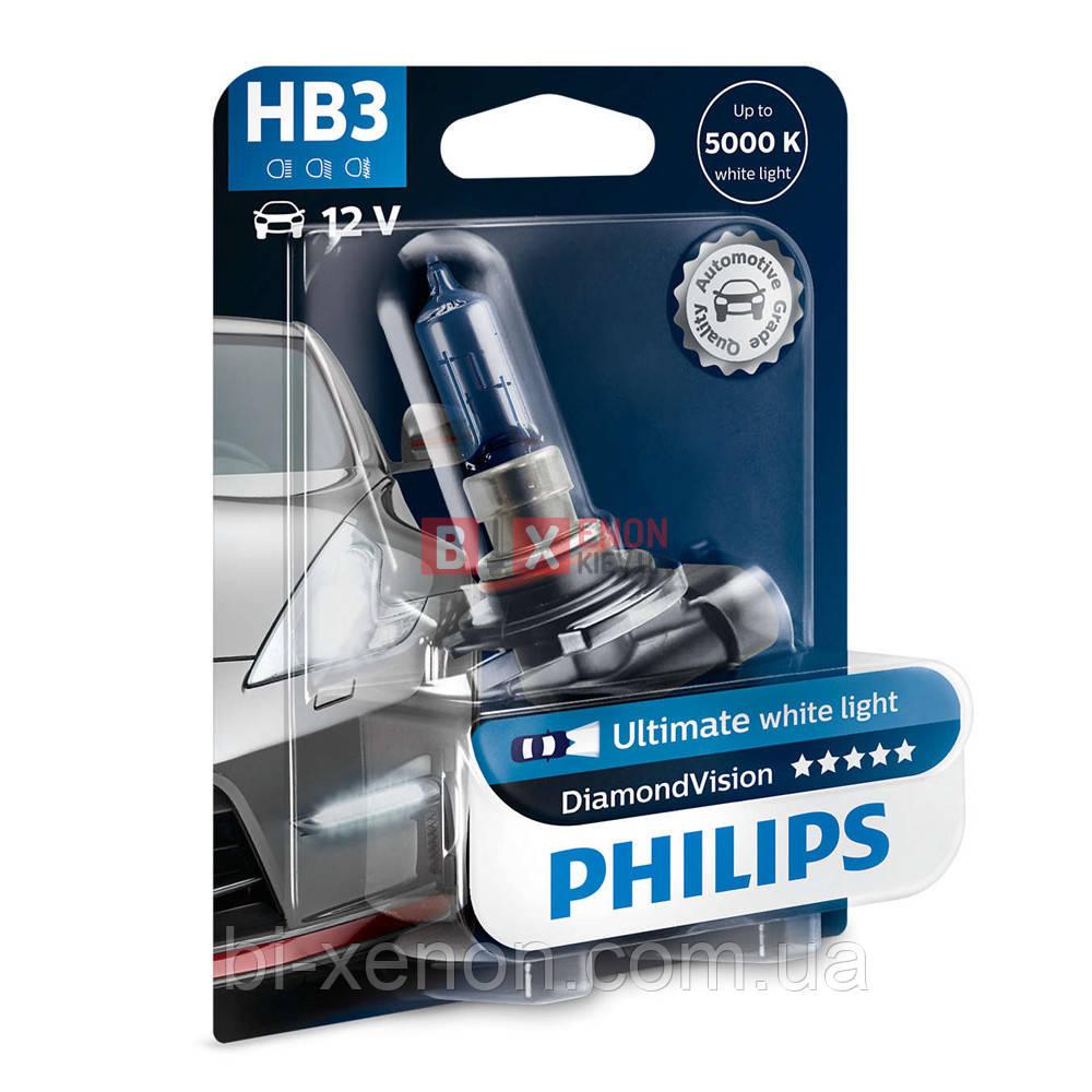 Галогенная лампа PHILIPS HB3 Diamond Vision 9005DVB1