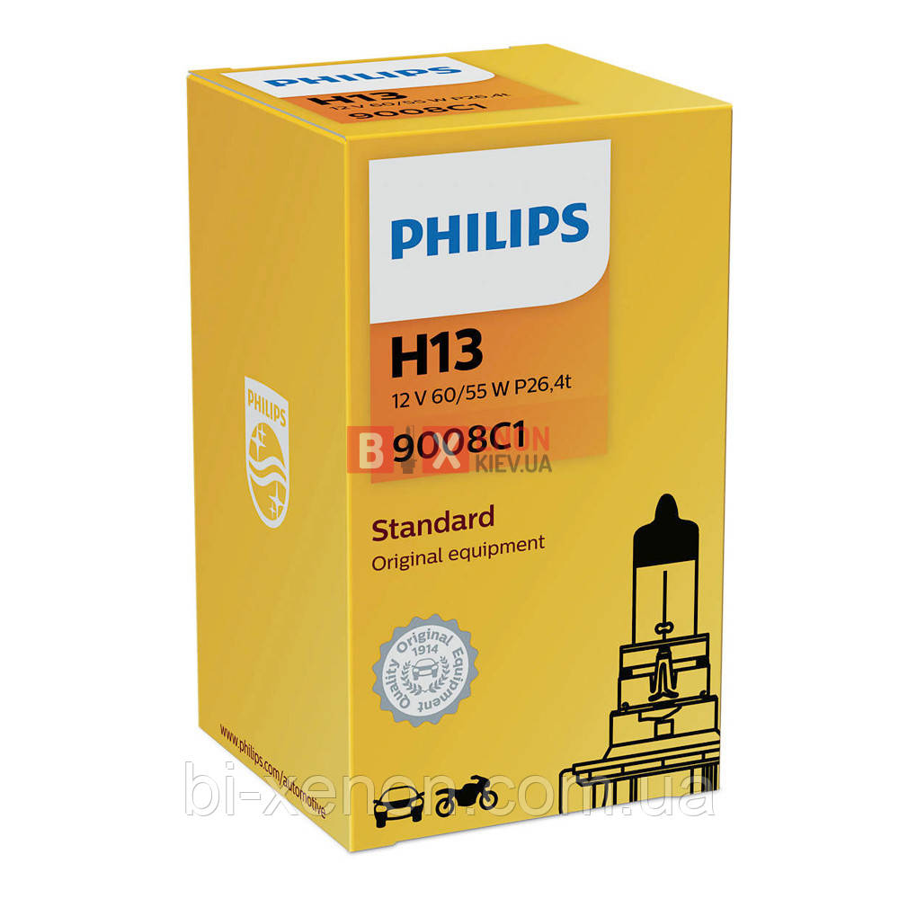 Галогенная лампа PHILIPS H13 Vision +30% 9008C1