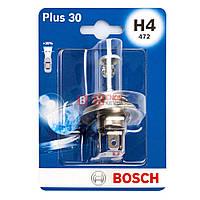Галогенная лампа BOSCH H4 Plus 30% 60/55W 12V 1 987 301 002 Blister