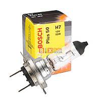 Галогенная лампа BOSCH H7 Plus 50% 55W 12V 1 987 302 079