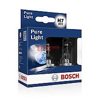 Галогенная лампа BOSCH H7 Pure Light 55W 12V 1 987 301 406 Box