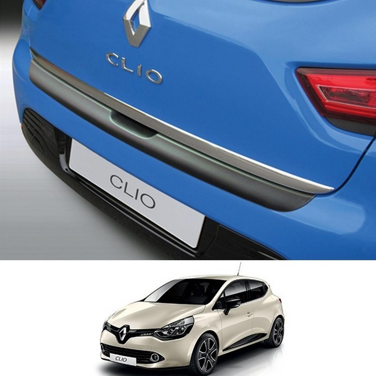 Пластикова захисна накладка на задній бампер для Renault Clio lV 2012-2019