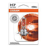 Галогенная лампа Osram H7 Original 55W 12V 64210-BLI Blister