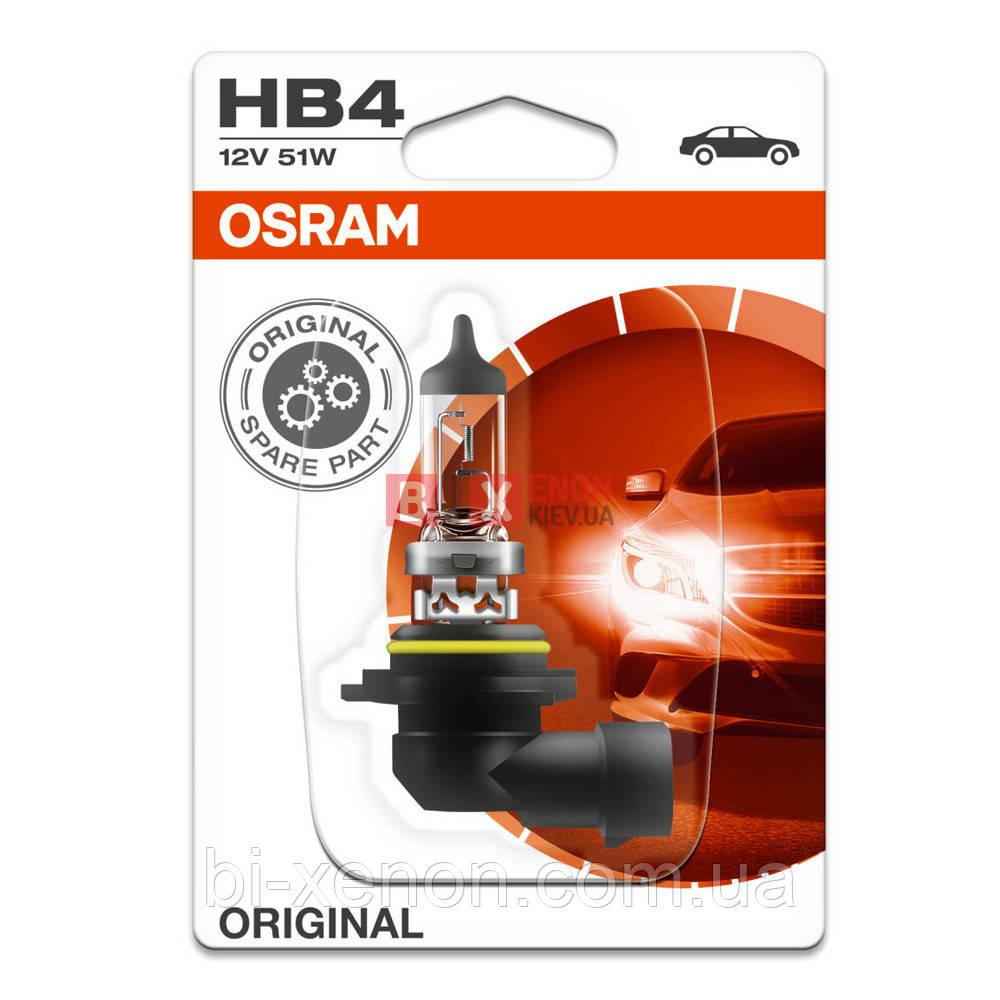 Галогенная лампа Osram HB4 Original 51W 12V 9006-BLI Blister