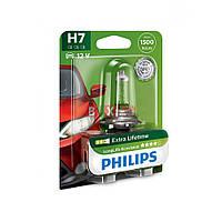 Галогенная лампа Philips H7 Long Life 55W 12V 12972LLECOB1 Blister