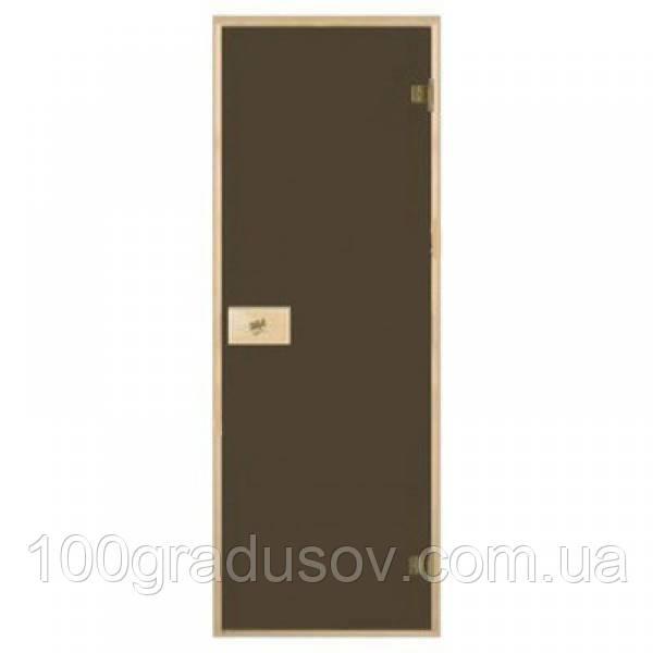 Стеклянные двери для бани Pal (бронза 70х190)