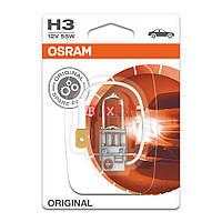 Галогенная лампа Osram H3 Original 55W 12V 64151-01B Blister