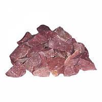 Камень для бани Малиновый кварцит - 20 кг