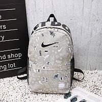 Городской рюкзак Nike серый