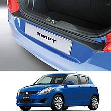 Пластикова захисна накладка заднього бампера для Suzuki Swift 3/5 Dr 2010-2017