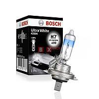 Галогенная лампа BOSCH H7 Ultra White 4200K 55W 12V 1 987 302 171