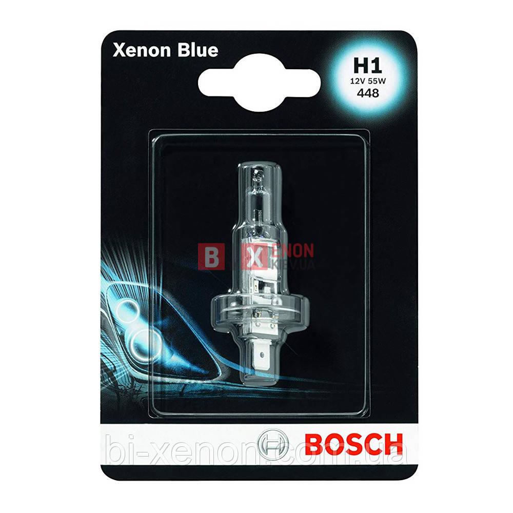 Галогенная лампа BOSCH H1 Xenon Blue 55W 12V 1 987 301 011 Blister