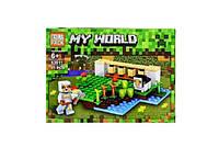 Конструктор лего My World аналог  Minecraft  арт 63011 на 81 дет