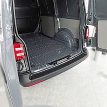 Пластиковая накладка заднего бампера для Volkswagen T6 2015+ (с 2-мя задними дверьми)