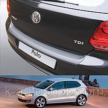 Пластиковая накладка заднего бампера для Volkswagen Polo V 3/5dr 2009-2014
