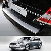 Пластикова накладка на задній бампер для Volvo V70 2013-2016