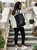 Рюкзак KL2x1 черный фактурный