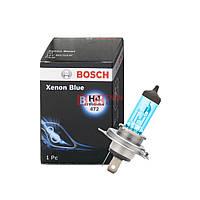 Галогенная лампа BOSCH H4 Xenon Blue 60/55W 12V 1 987 302 045