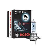 Галогенная лампа BOSCH H7 Xenon Blue 55W 12V 1 987 302 075