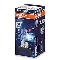 Галогенная лампа OSRAM H15 Cool Blue Intense 64176CBI