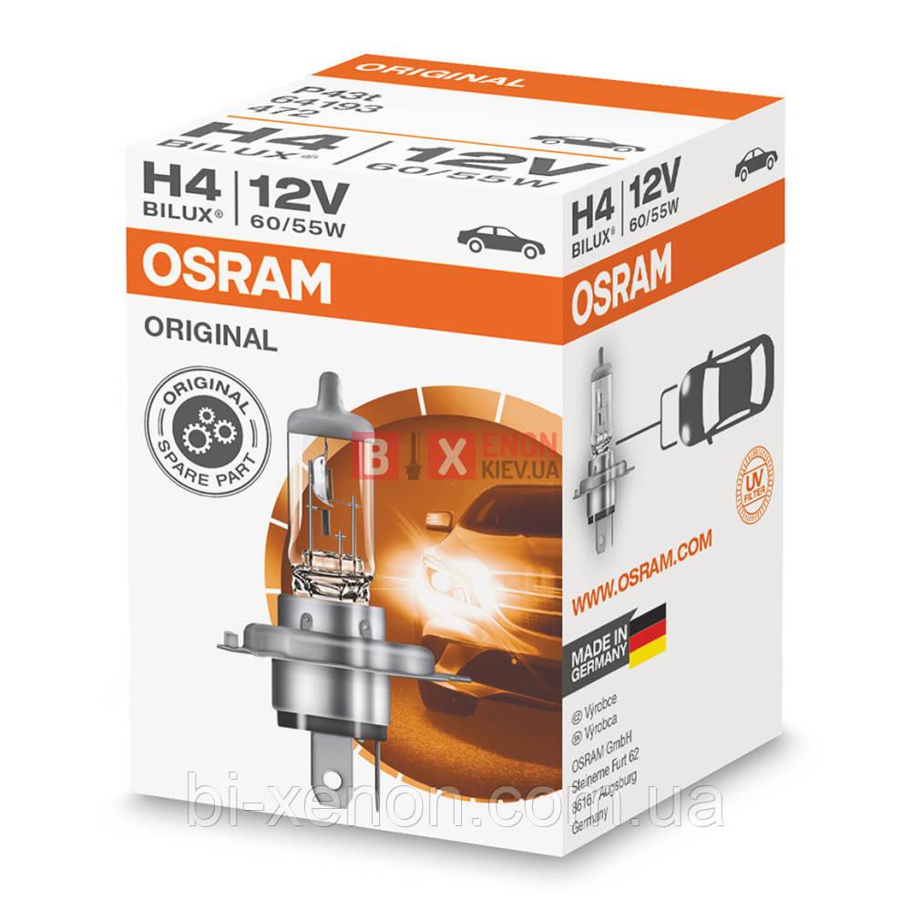 Галогенная лампа OSRAM H4 Original 64193